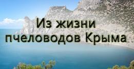 Из жизни пчеловодов Крыма