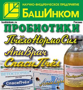 Башинком предлагает пробиотики для пчел