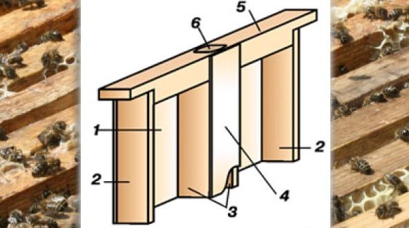 вентиляционная рамка в улье